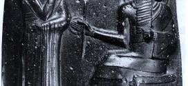 the code of hammurabi upper part of statue